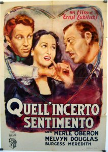 Quell'incerto sentimento - Lubitsch
